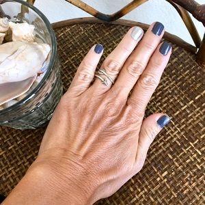 MACY'S 925 Silver Arrow Ring Size 5